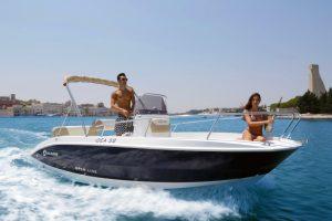Boat sharing Puglia barca a motore