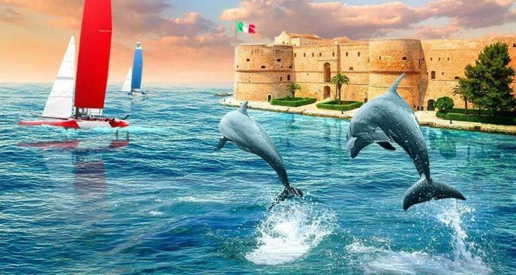 locandina sailgp Taranto