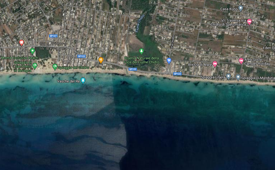 san pietro google maps